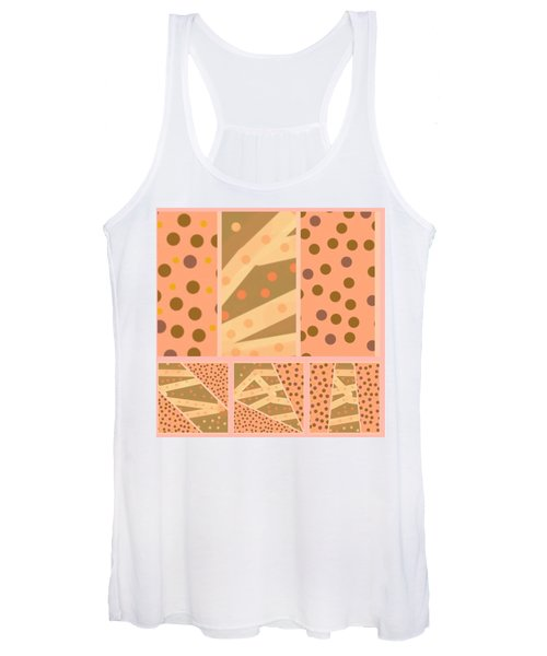 Patterns Of Finding Solace 100 Women's Tank Top