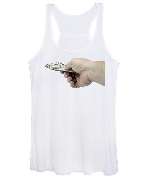 Pay Money Women's Tank Top