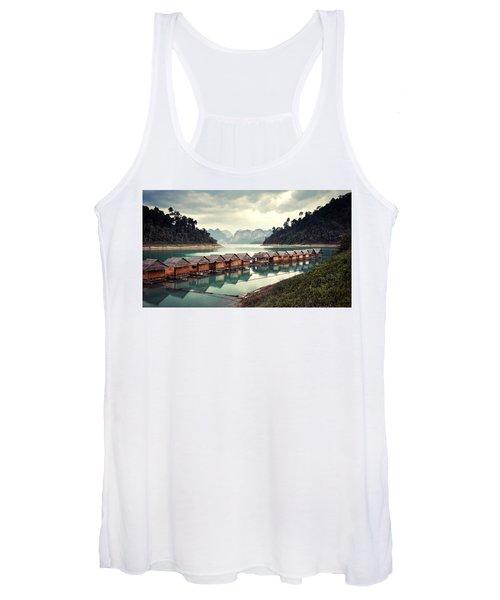 Peace On The Lake Women's Tank Top