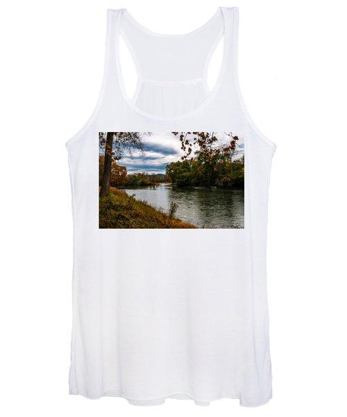 Peaceful River Women's Tank Top