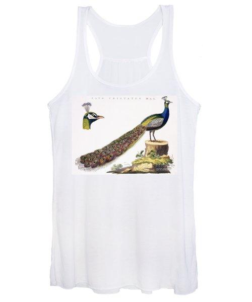 Peafowl Women's Tank Top