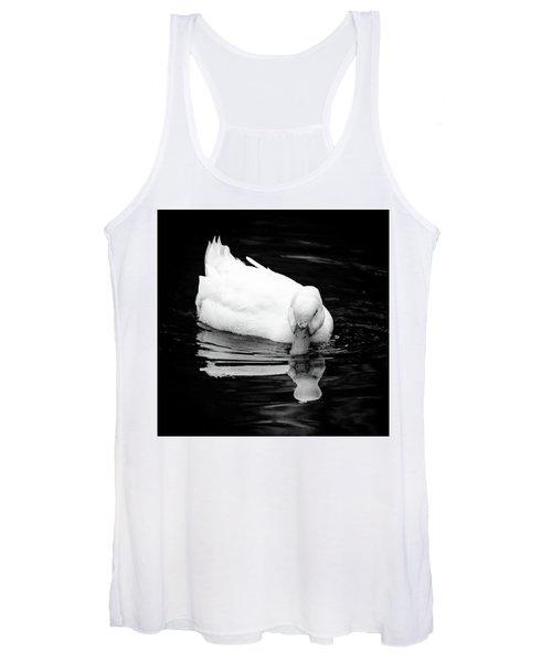 Peek-ing Duck Women's Tank Top