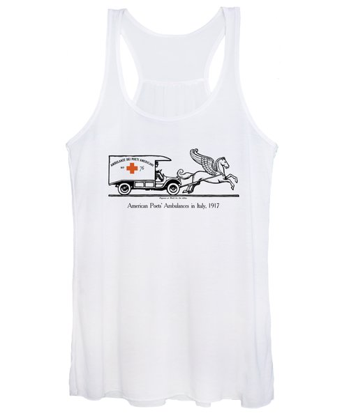 Pegasus At Work For The Allies Women's Tank Top
