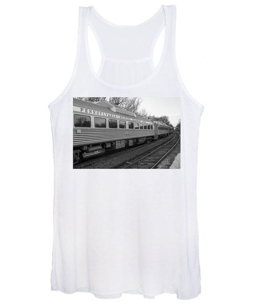 Pennsylvania Reading Seashore Lines Train Women's Tank Top