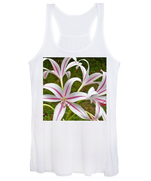 Peppermint Lilies Women's Tank Top