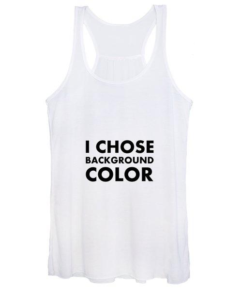 Personal Choice Women's Tank Top