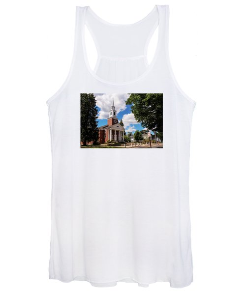 Phillips Stevens Chapel, Williston Northampton School, Easthampton, Ma Women's Tank Top