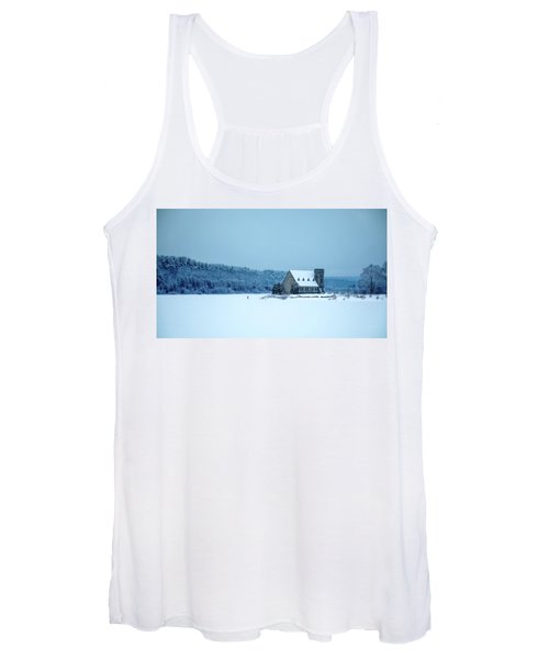 Photographer On Thin Ice Women's Tank Top