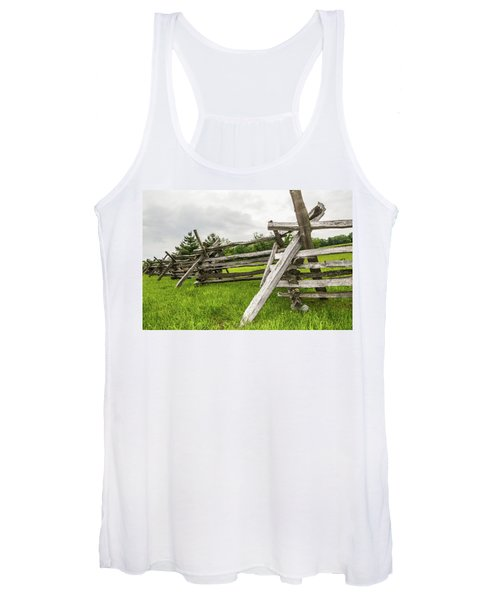 Picket Fence Women's Tank Top