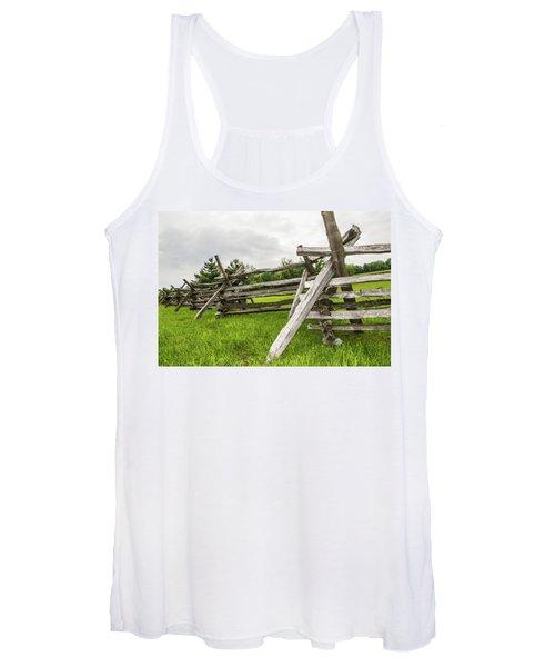 Picket Fence Women's Tank Top