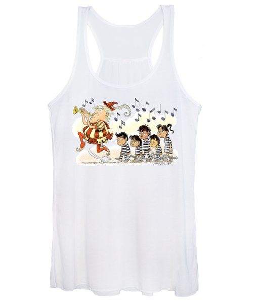 Pied Piper Trump And Infestation Women's Tank Top