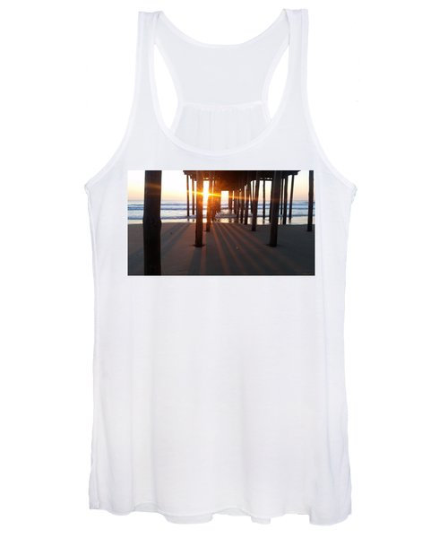 Pier Shadows Women's Tank Top