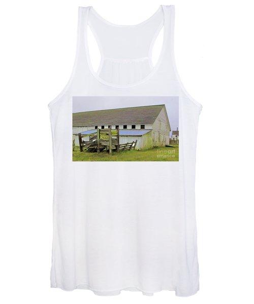 Pierce Pt. Ranch Barn Women's Tank Top