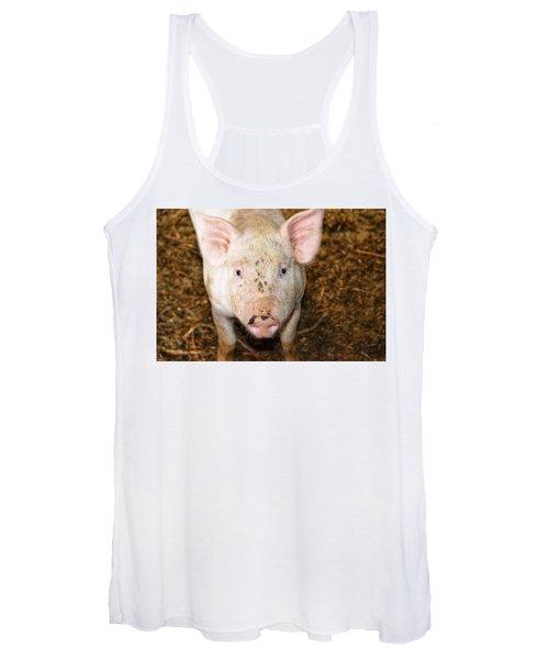 Pig Women's Tank Top