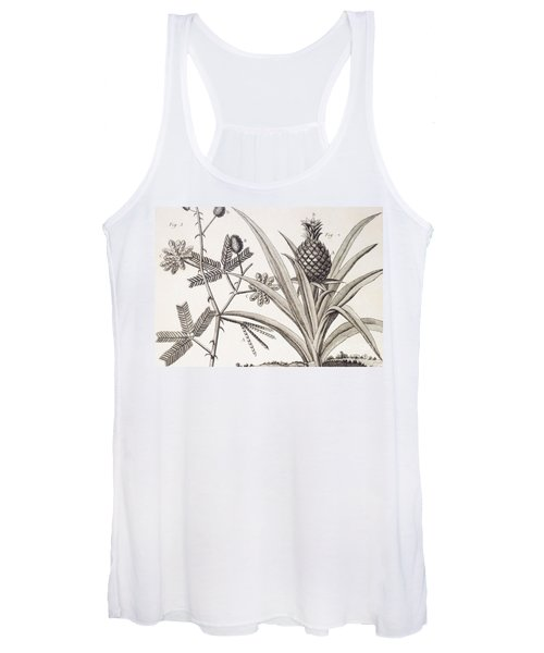 Pineapple Plant Women's Tank Top