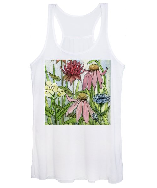 Pink Coneflower Women's Tank Top