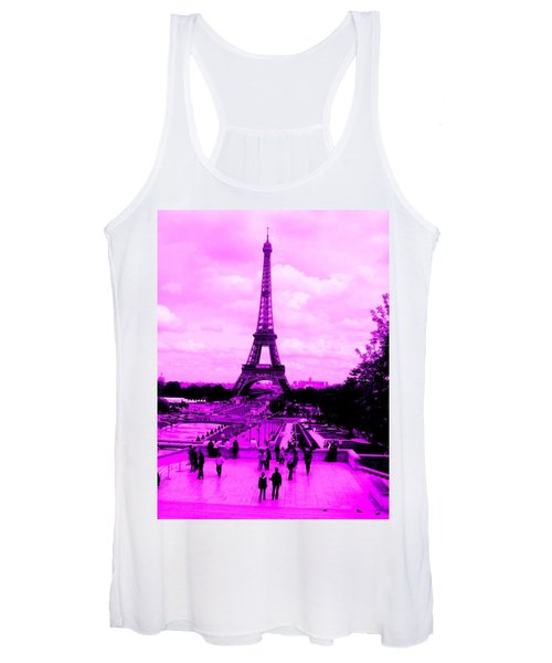 Pink Paris Women's Tank Top
