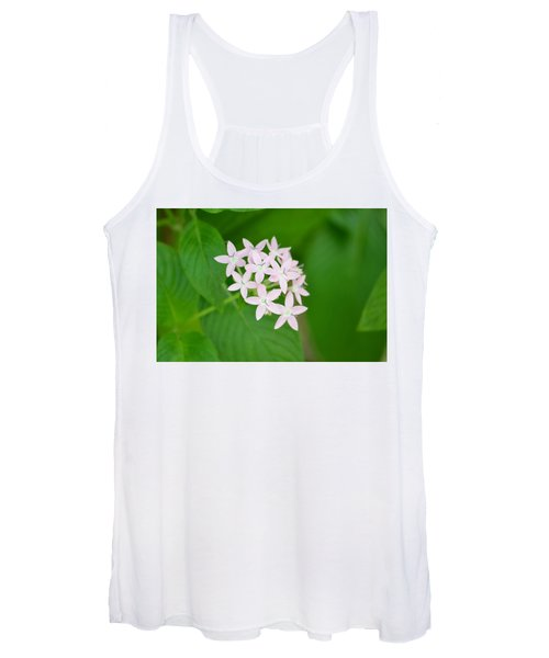 Women's Tank Top featuring the photograph Pink Stars by Michael Colgate