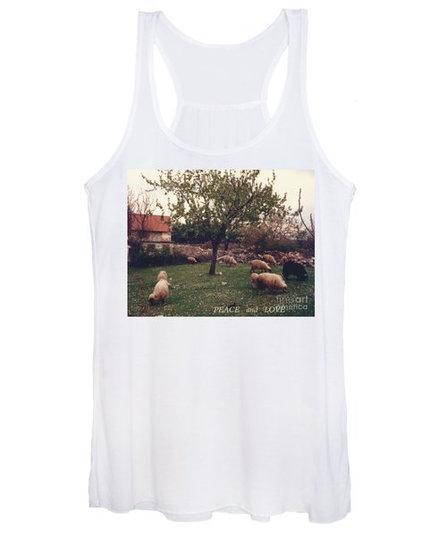 Place Of Peace And Love Women's Tank Top