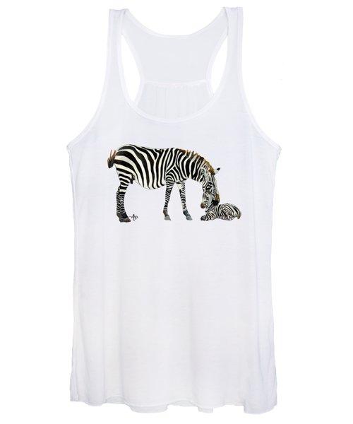 Plains Zebras Women's Tank Top