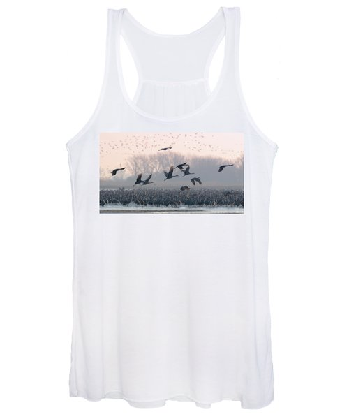 Platte River Morn Women's Tank Top