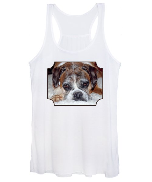 Please Let Me Stay By The Fire Women's Tank Top