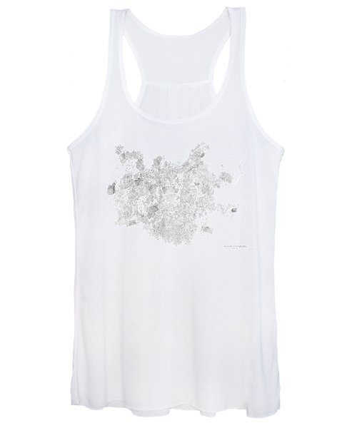 Polymer Crystallization With Modifiers Women's Tank Top