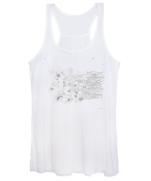 Polymer Fiber Spinning Women's Tank Top