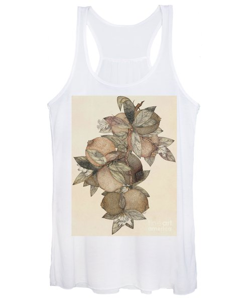 Pomegranate Fruit, 1867 Women's Tank Top
