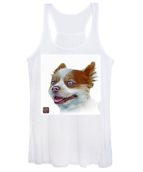 Pomeranian Dog Art 4584 - Wb Women's Tank Top