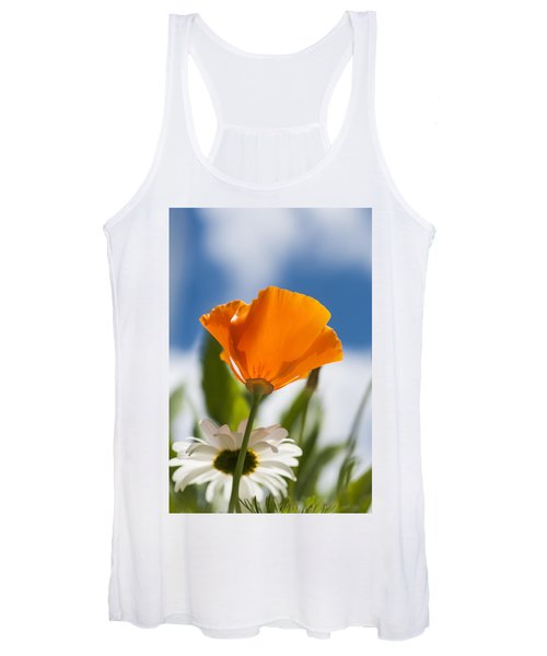 Poppy And Daisies Women's Tank Top