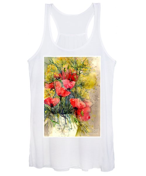 Poppy Impression Women's Tank Top