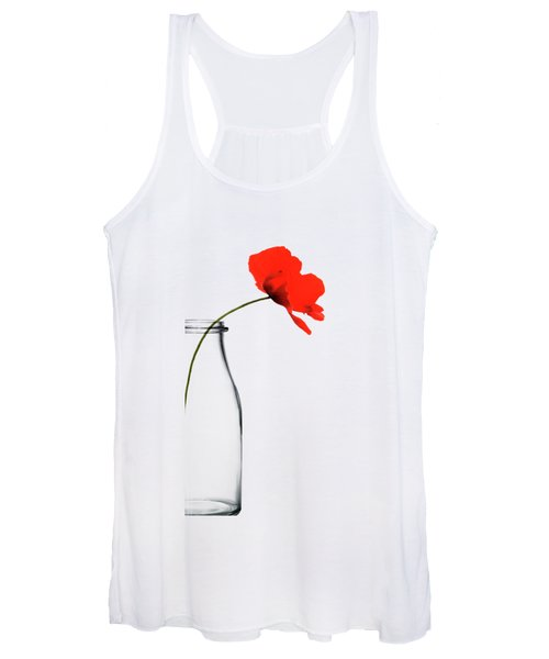 Poppy Red Women's Tank Top