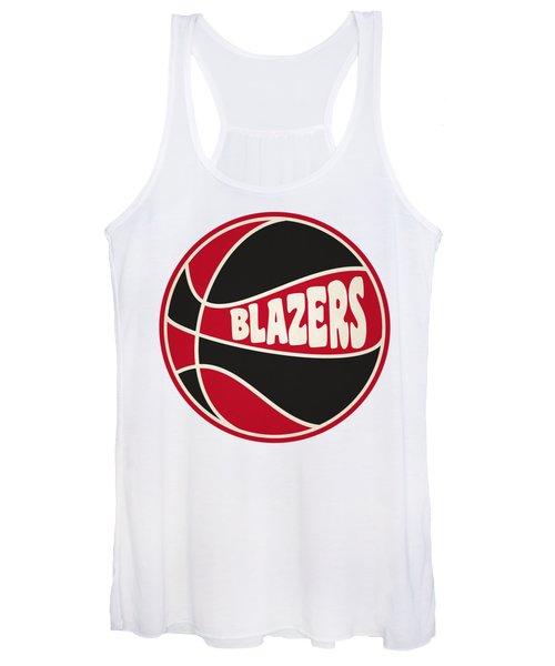Portland Trail Blazers Retro Shirt Women's Tank Top