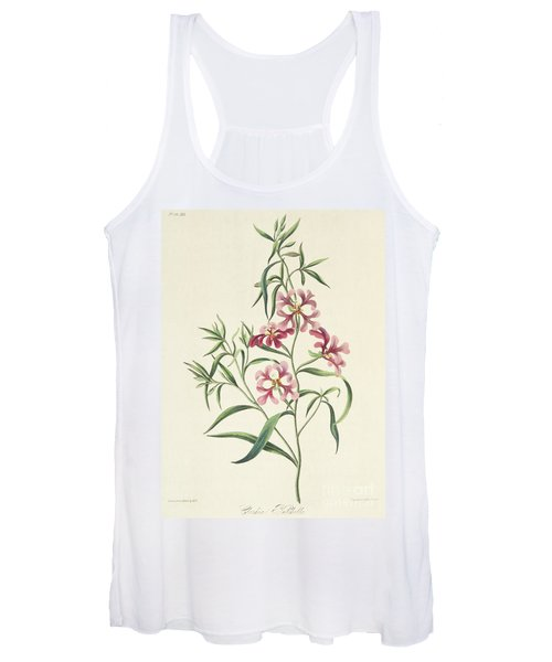 Pretty Clarkia Women's Tank Top