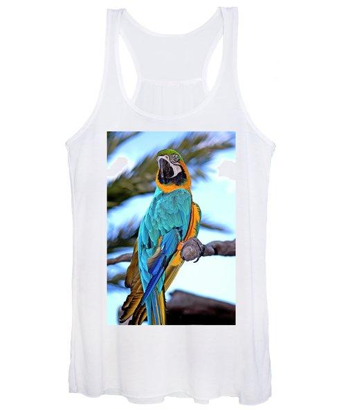 Pretty Parrot Women's Tank Top