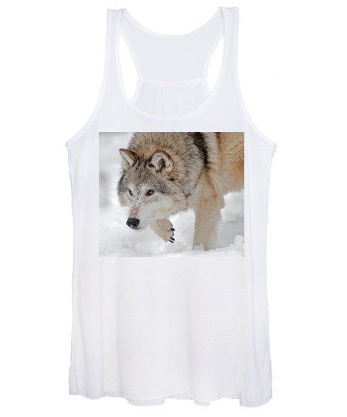 Prowling Wolf Women's Tank Top