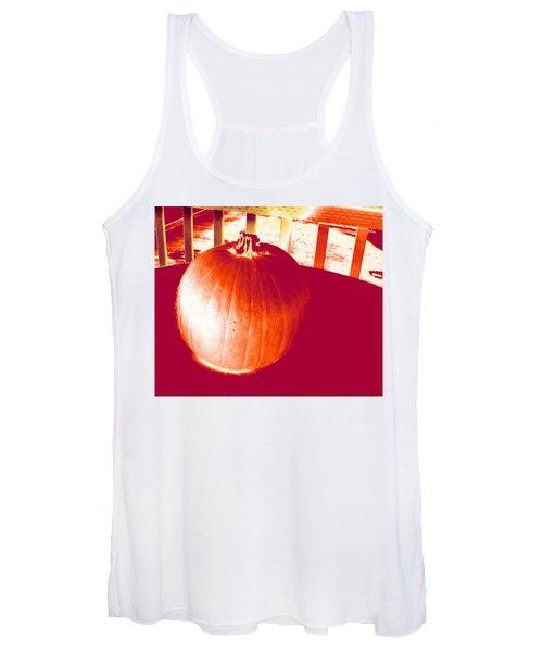 Pumpkin #1 Women's Tank Top