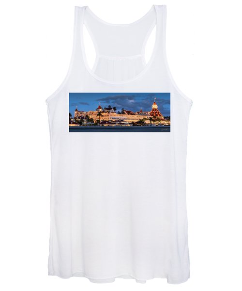 Pure And Simple Pano 48x18.5 Women's Tank Top