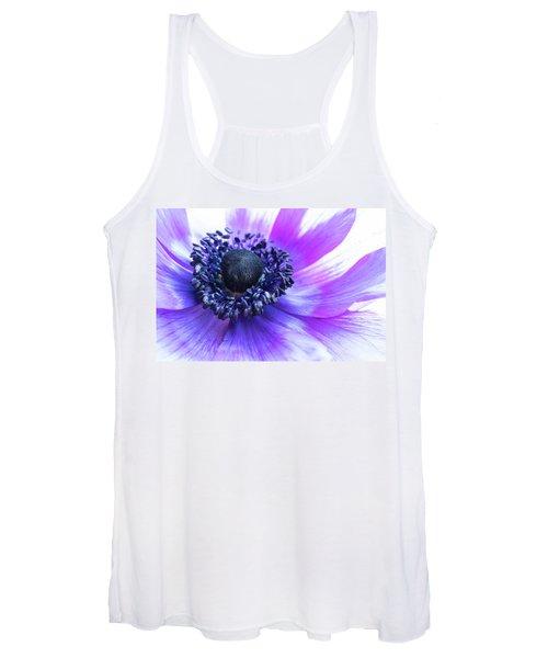 Purple Anemone Women's Tank Top