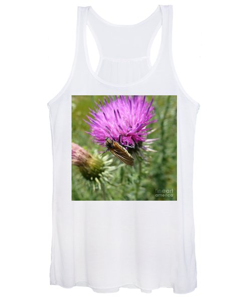Purple Dandelions 1 Women's Tank Top