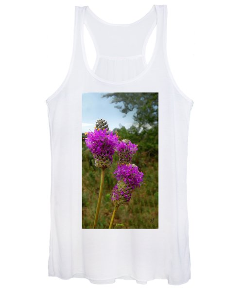 Purple Prairie Clover Women's Tank Top