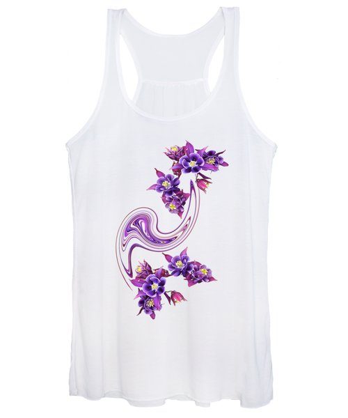 Purple Velvet Women's Tank Top