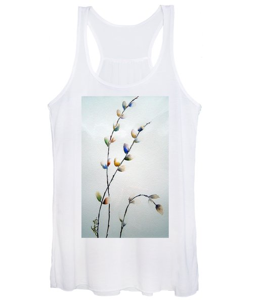 Pussy Willows Women's Tank Top
