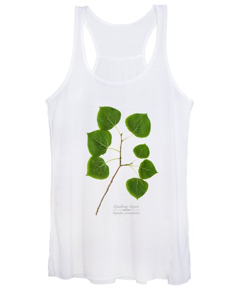 Quaking Aspen Women's Tank Top