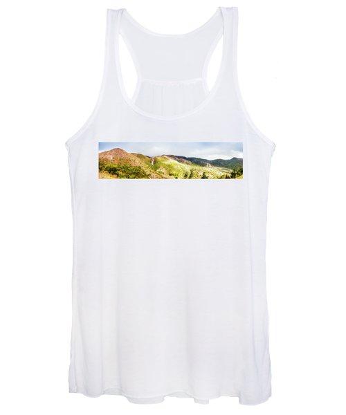 Queenstown Tasmania Wide Mountain Landscape Women's Tank Top