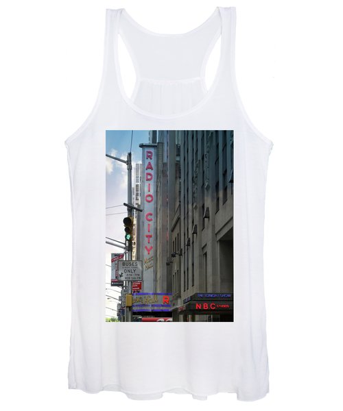 Radio City Music Hall Women's Tank Top