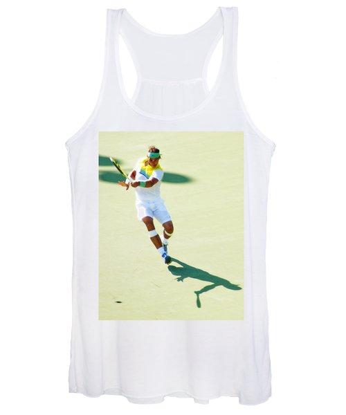 Rafael Nadal Shadow Play Women's Tank Top