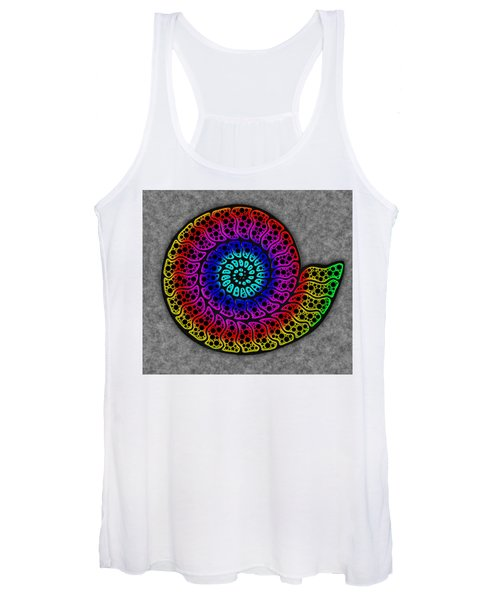 Rainbow Ammonite Women's Tank Top