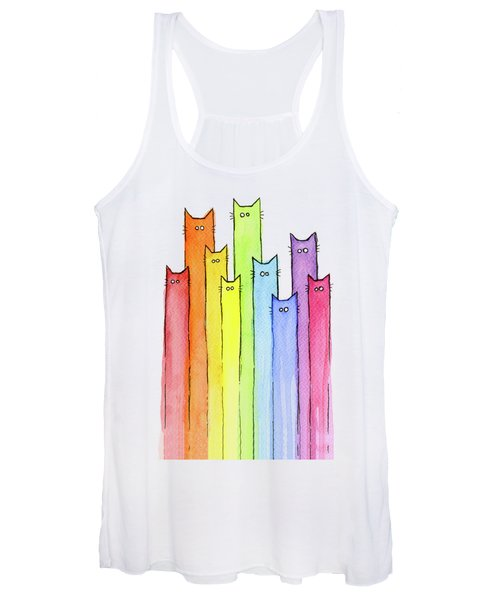 Rainbow Of Cats Women's Tank Top